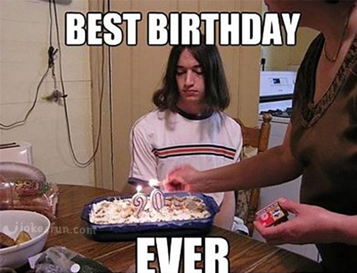 Happy Birthday Meme ~ Funny happy birthday memes