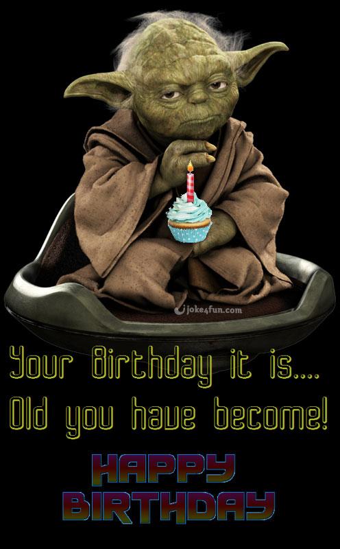 yoda birthday meme Joke4Fun Memes: Yoda Birthday Wishes! yoda birthday meme