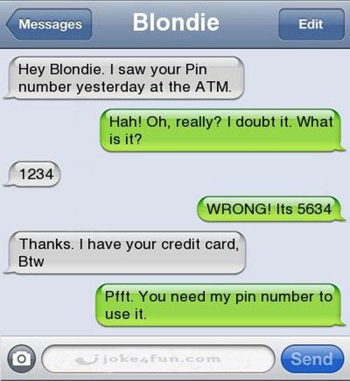 Blonde sexy jokes